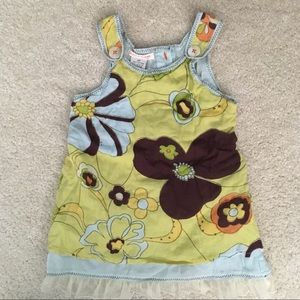 Mimi and Maggie Floral Dress 2T